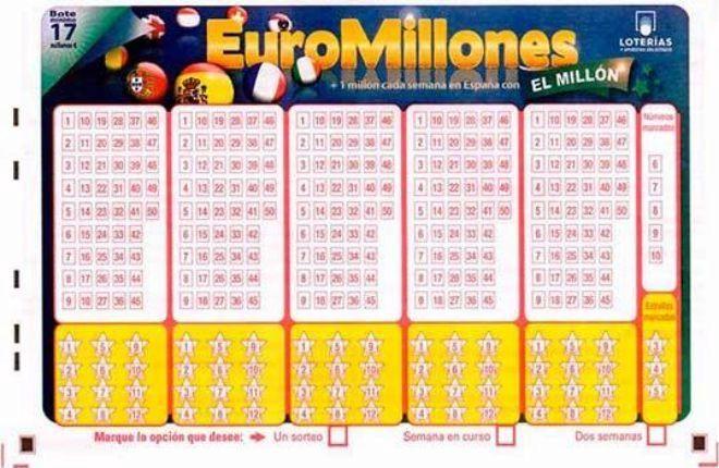 Euromillones: sorteo del 9 de enero de 2018