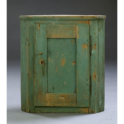 Painted Hanging Corner Cupboard, - 102 Best Antique Painted Hanging Cupboards Images On Pinterest