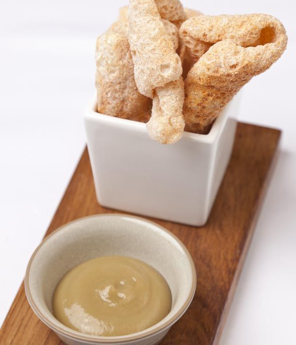 The key to a great pork scratching is a good level of crunch, something Richard Davies achieves perfectly in this pork scratchings recipe.