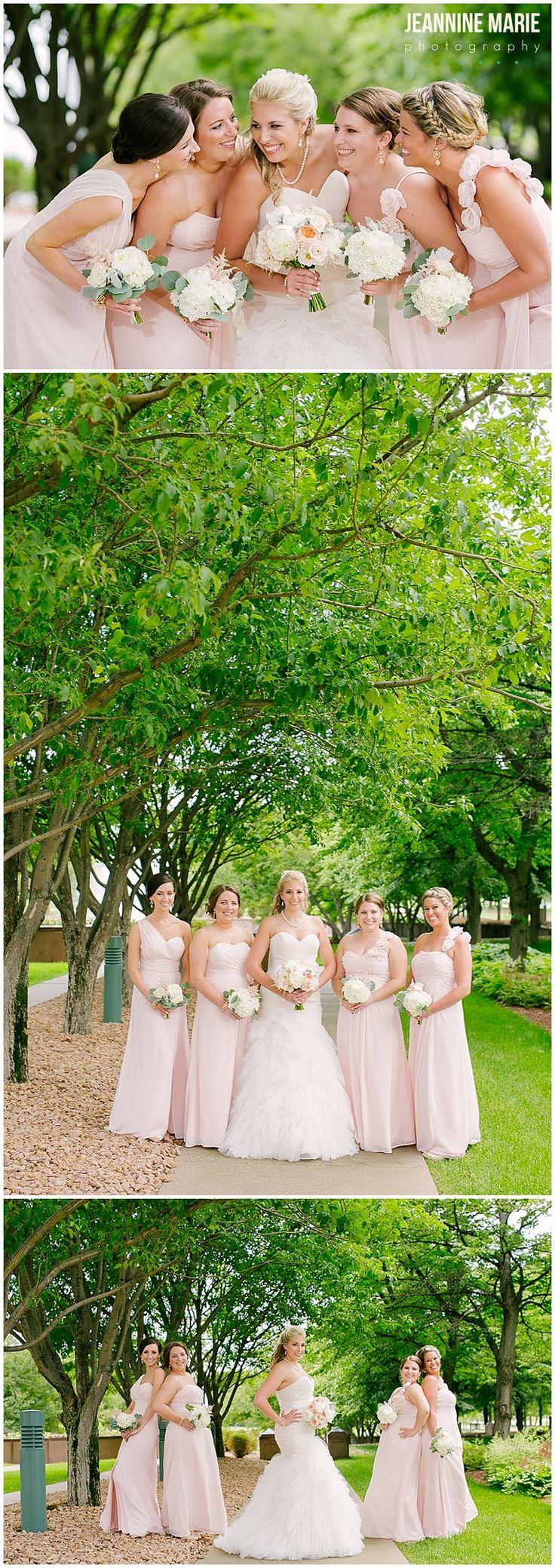 Bridesmaids portraits at CarlsonTowers in Minnetonka MN