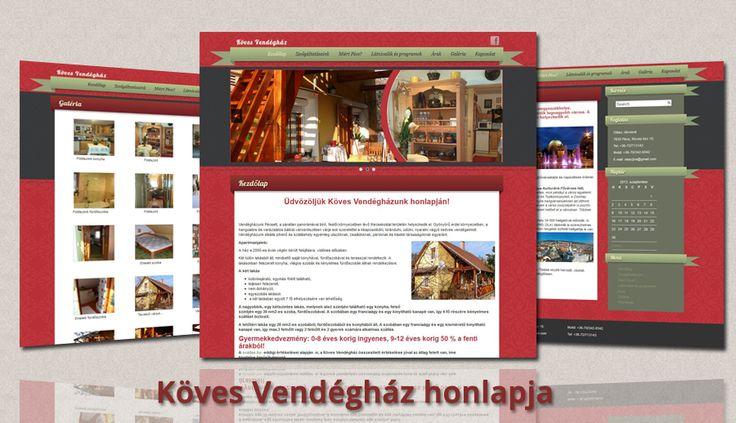 Köves Vendégház honlapja