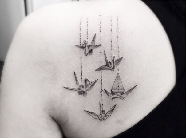 La inspiración geométrica en los tatuajes de Dr. Woo - Cultura Colectiva - Cultura Colectiva
