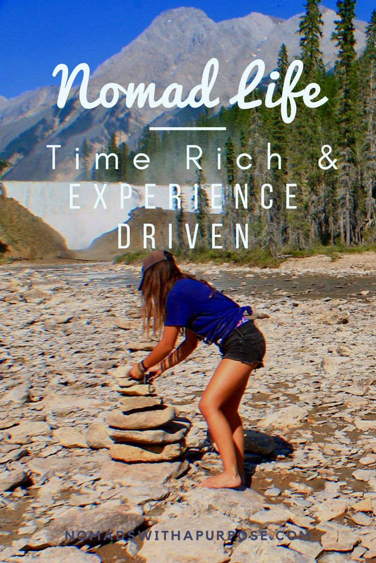621d1f6a29 Nomadic Life  Being Time Rich and experience driven
