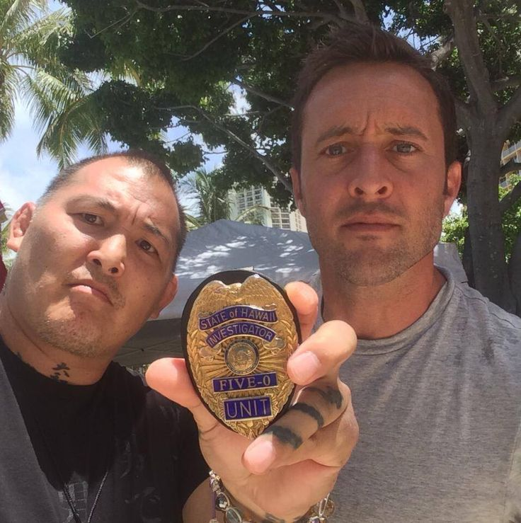 Pics from #EnsonInoue and @plenkov from today's #H50 filming #AlexOLoughlin