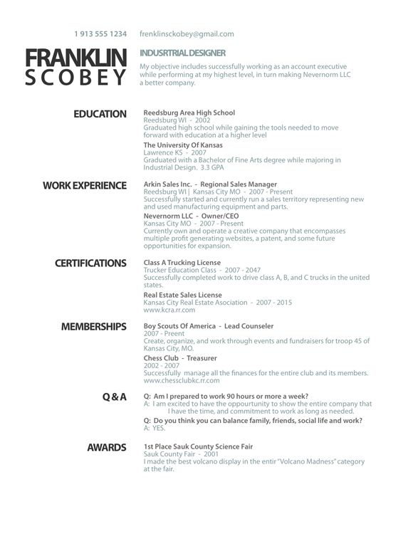 13 best work related images on Pinterest Resume templates - industrial sales manager resume
