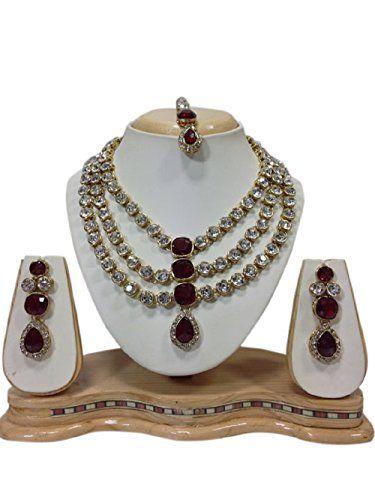 VVS Jewellers Traditional Elegant Bollywood Inspired Wedd... https://www.amazon.com/dp/B06XXCL424/ref=cm_sw_r_pi_dp_x_2YqjzbDQ0GXZC
