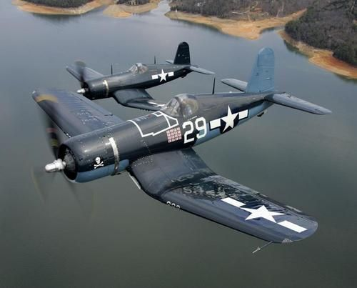 A Pair of Vought Corsairs