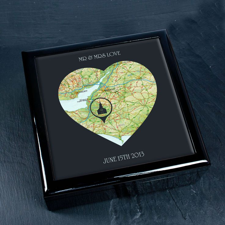 Personalised Special Places In Heart Keepsake Box - yourgifthouse