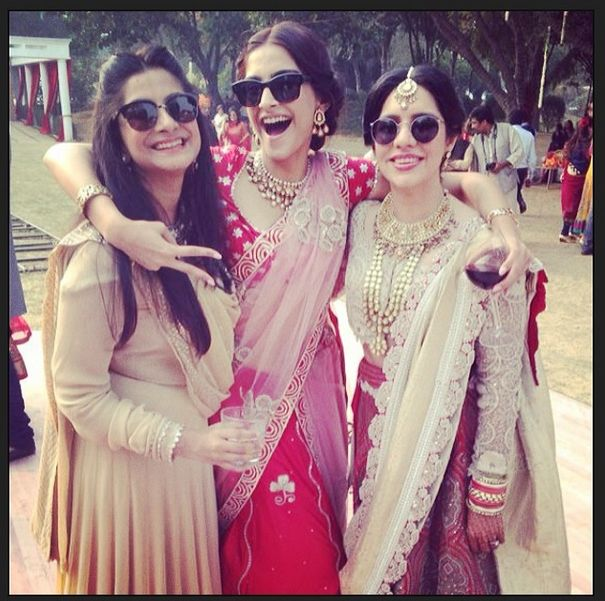 Sonam Kapoor at her friend's wedding | PINKVILLA