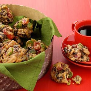 Better-Than-Fruitcake Cookies Recipe from Taste of Home -- shared by Lillian Charves of New Bern, North Carolina