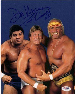 Paul Orndorff & Don Magnificent Muraco Signed WWE 8x10 Photo COA Auto'd - PSA/DNA Certified - Autographed Wrestling Photos by Sports Memorabilia. $51.76. Paul Orndorff & Don Magnificent Muraco Signed WWE 8x10 Photo PSA/DNA COA Auto'd