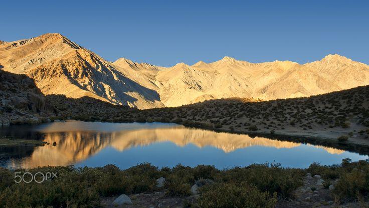 Amanecer Laguna El Cepo - Amanecer en la Laguna El Cepo