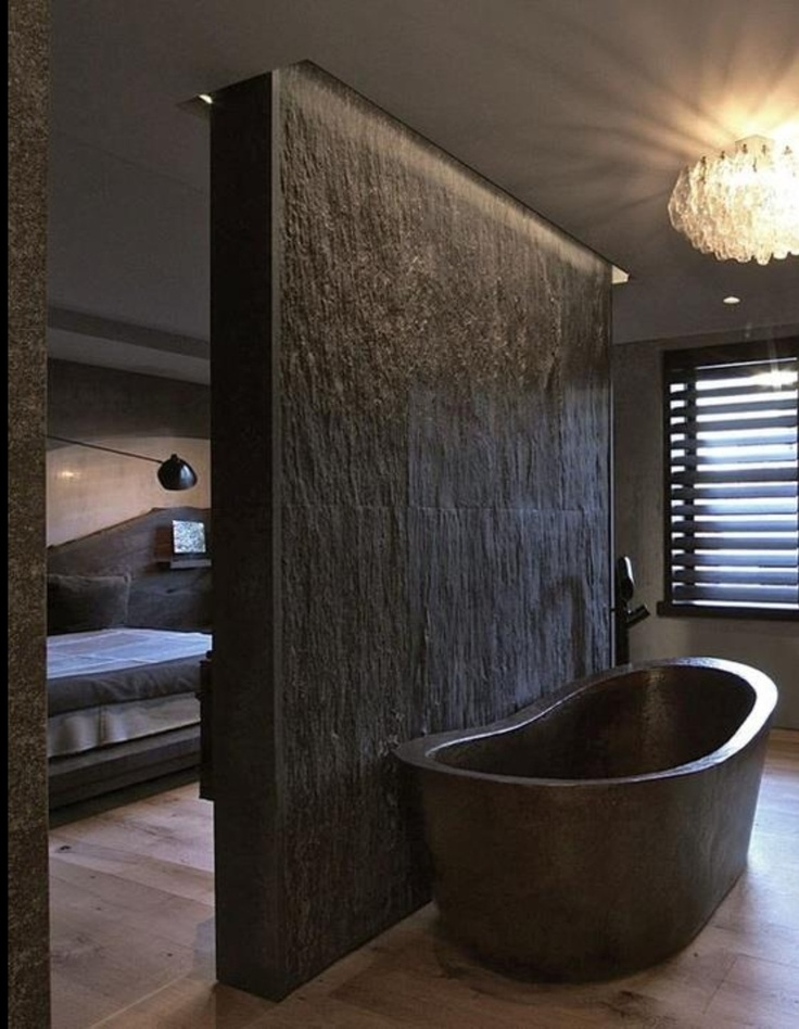 Sexy dark bathroom design in matt colour just bathrooms for Dark bathroom designs