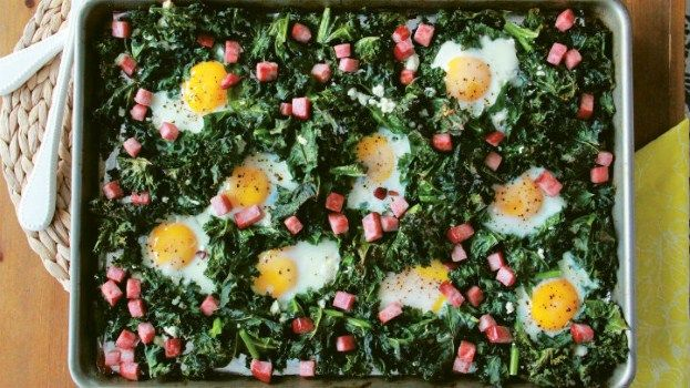 Greens & Eggs & Ham Recipe