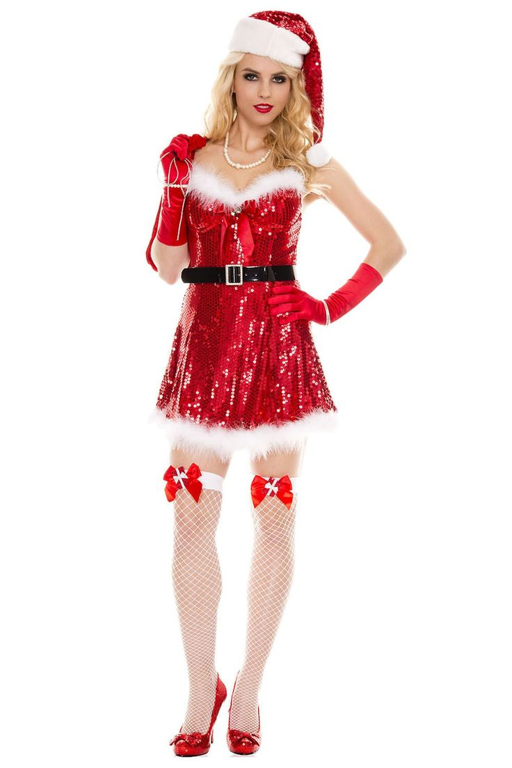 #MusicLegs #Holidayseason www.fifty-6.com ml70058 Sexy Miss Santa