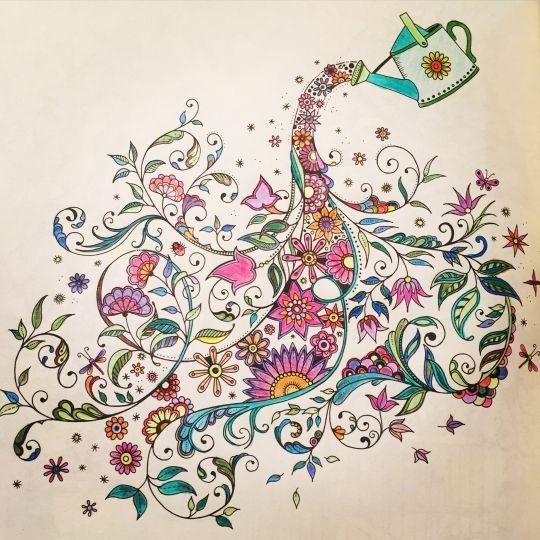 Secret Garden Coloring BookZen