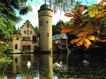 Schloss Mespelbrunn 14th Century German Castle
