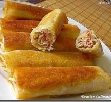 Recette - Bourek au poulet - Proposée par 750 grammes