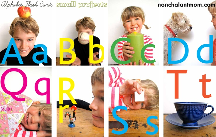 make your own alphabet flashcards using pics with your kid [from #smallmagazine]: Diy Ideas, Gift Ideas, Education Ideas, Cute Ideas, Baby Kid Ideas, Grandparent Ideas, Alphabet Ideas, Kiddo