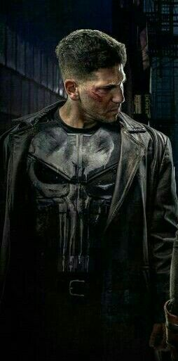 Frank Castle/Punisher (Jon Bernthal) on Netflixs' Daredevil and just announced recently spinoff Punisher TV Series :-)
