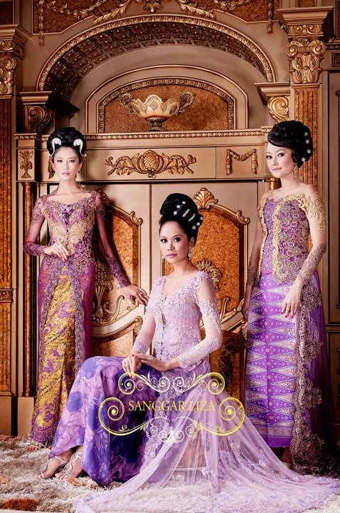 purple kebaya. Great idea for my hippocratic oath outfit