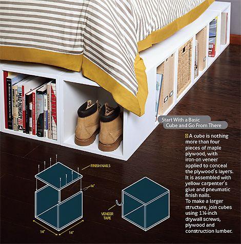 DIY Furniture Boxes: Ideas, Furniture Boxes, Diy Furniture, Boys Rooms, Platform Beds, Beds Frames, Flexibility Furniture, Beds Storage, Bed Storage