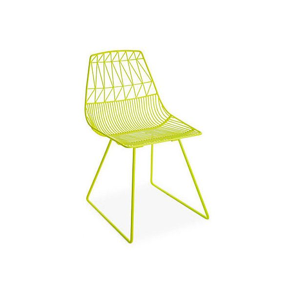 yellow patio furniture. lucy chair neon yellow outdoor dining chairs 599 liked on polyvore featuring home patio furniture