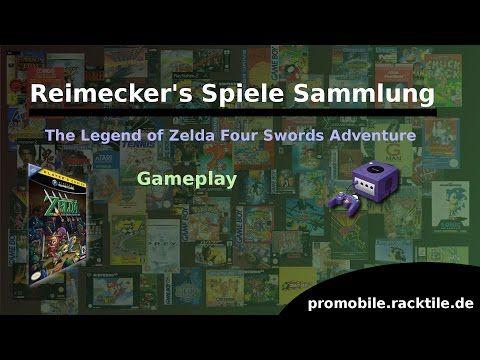 Reimecker's Spiele Sammlung : The Legend of Zelda Four Swords Adventure