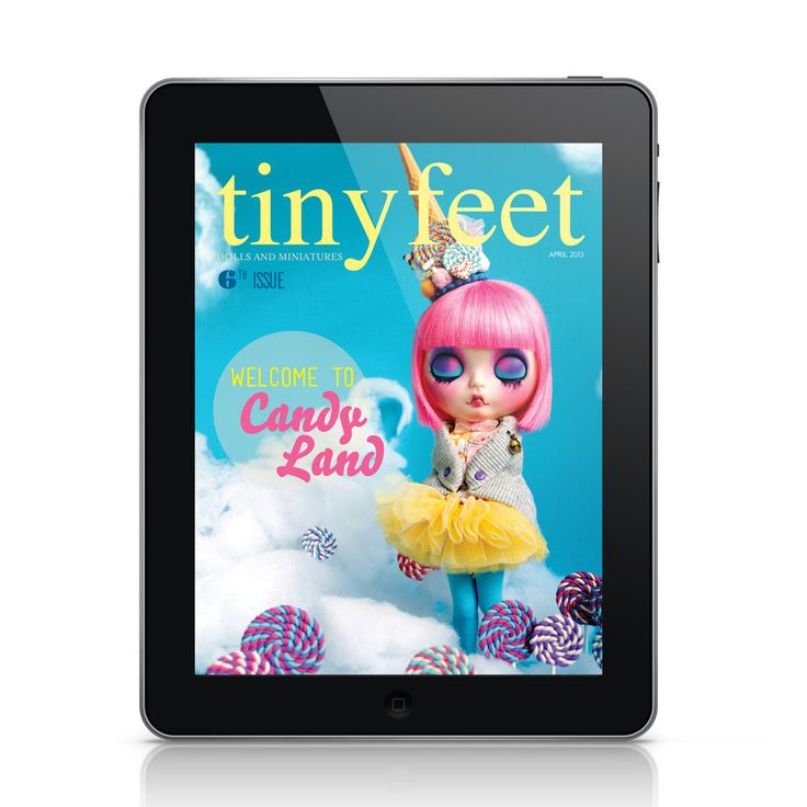 Welcome to Candyland - Digital by Tiny Feet Magazine