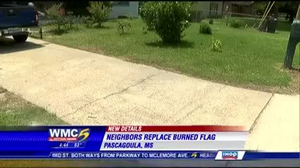 Idiots spray paint 'BLACKS RULE' on DISABLED VET'S driveway after BURNING his Mississippi flag » The Right Scoop -