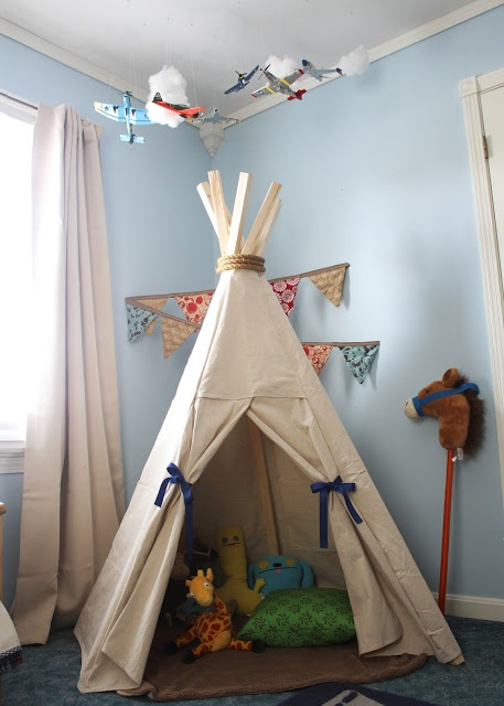 Boys Room Tent : Best images about diy tents and teepees on pinterest