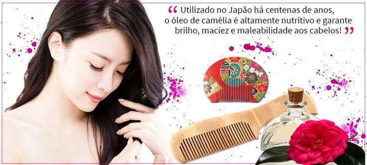 Layering Capilar com óleo de camélia: o segredo do cabelo perfeito das japonesas!