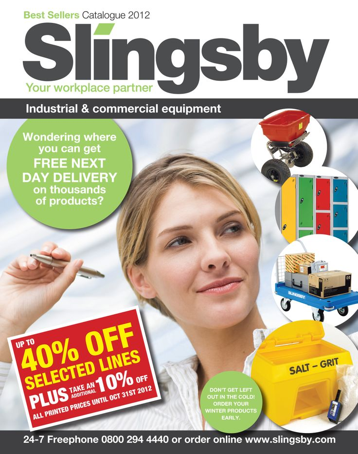 Slingsby Best sellers Catalogue 2012