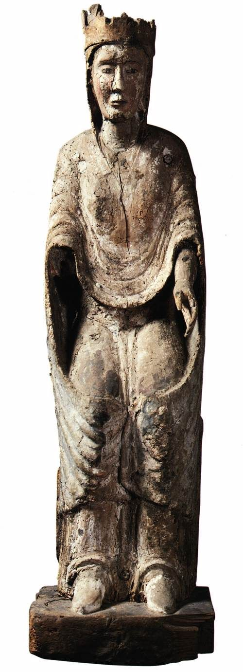 Unknown, Virgin Enthroned, 1300s.