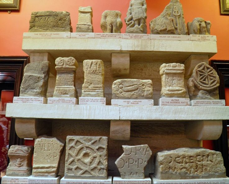 altars at chesters roman fort museum hadrians wall on hadrians wall id=72498