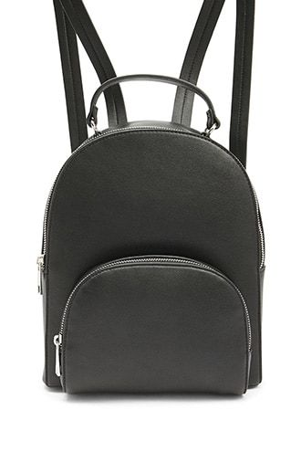Faux Leather Backpack  528bab7c69bb1