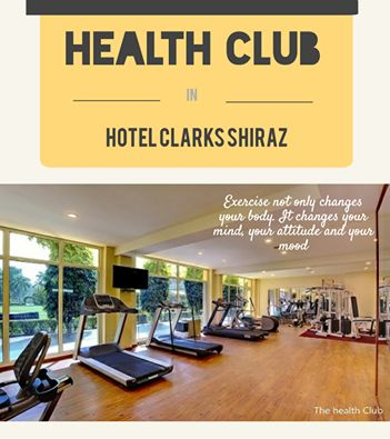 Without health, life is not life. Book a Hotel with a Gym. These easy moves will make your visit better for you. #HealthClub #HotelGym #VisitAgra