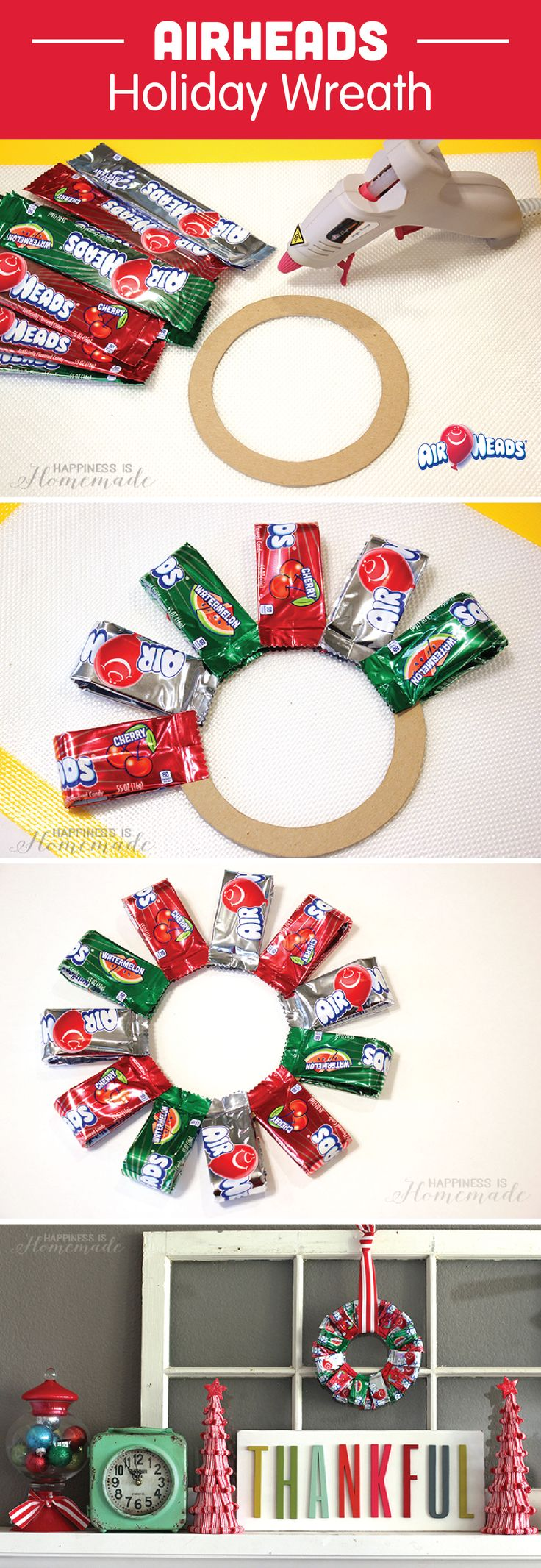25+ Best Ideas about Candy Wreath on Pinterest | Snowflake ...