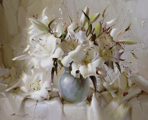 by Ramil Gappasov, Maher Art Gallery. [Oil]