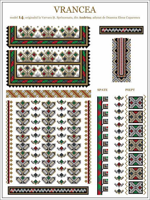 Semne Cusute: iie din Andries, Vrancea, MOLDOVA