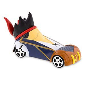 Jake Disney Racers Die Cast Car | Disney Store Jake is all set to race into action as the young buccaneer is transformed into a swashbuckling car. The leader of the Never Land Pirates will be a treasured addition to your Disney Racers collection.
