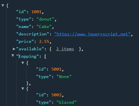 Beautiful JSON Viewer And Editor With jQuery - JSON Editor
