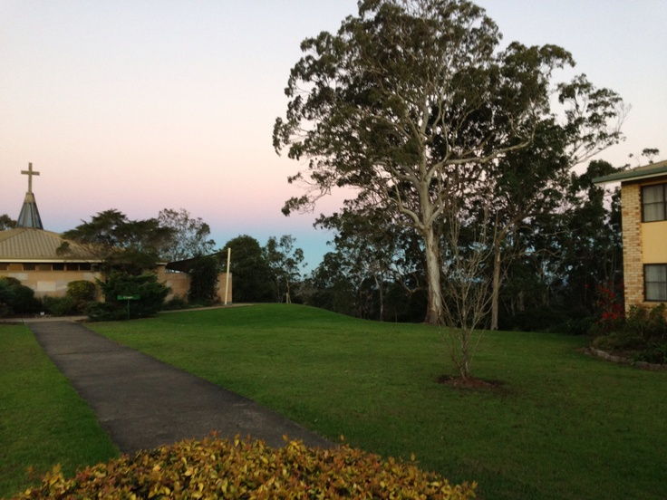 So peaceful - James Byrne centre Toowoomba quilt retreat 2013