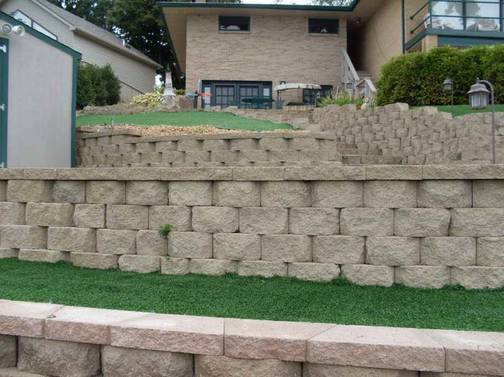 25 Best Ideas About Retaining Wall Block Prices On