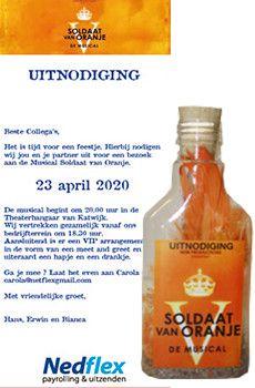 Flessenpost - zakelijke uitnodigingen bij ieder event....