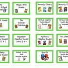This is an editable word document that includes 16 green polka dot labels for chapter books including:The Bailey School Kids, Magic Tree House, J...
