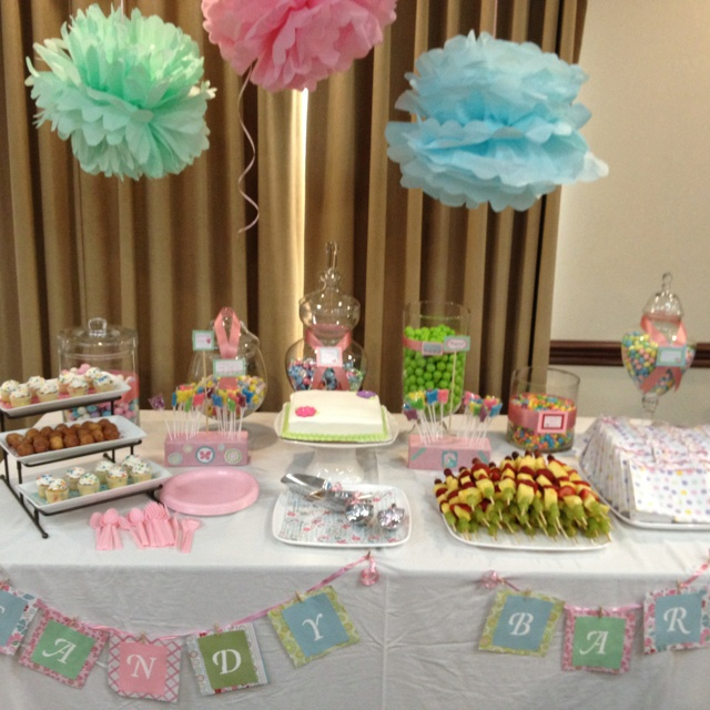 Baby Shower Candy Buffet!