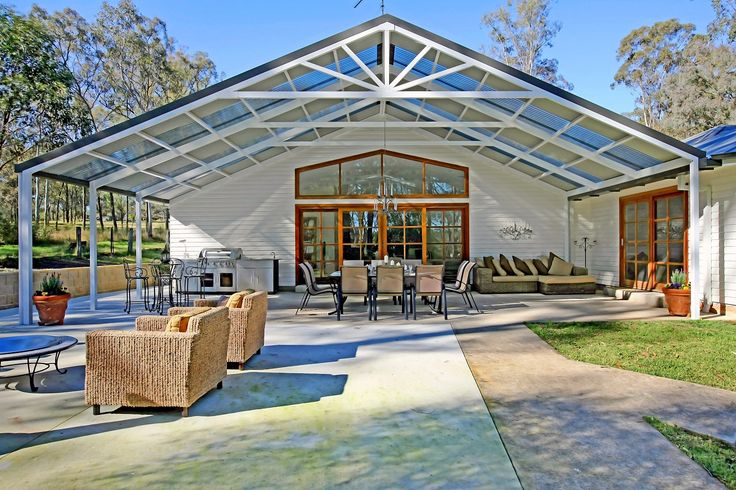 Large Gable Pergolas Carports Patios Pergolas Awnings