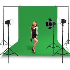 5x10ft Green Screen 100% Cotton Muslin Backdrop Photo Photography Background USA