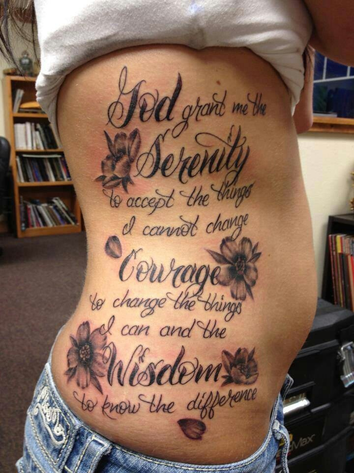 89 best images about serenity prayer on pinterest ribs fonts and serenity prayer tattoo. Black Bedroom Furniture Sets. Home Design Ideas